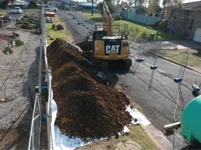 Gross Pollutant trap installation project 2 Wellington