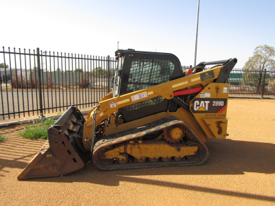 CAT 289D TRACKED SKIDSTEER