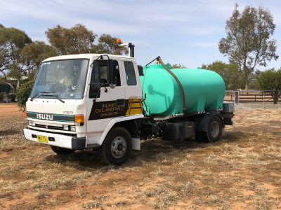 Isuzu Manual Watercart